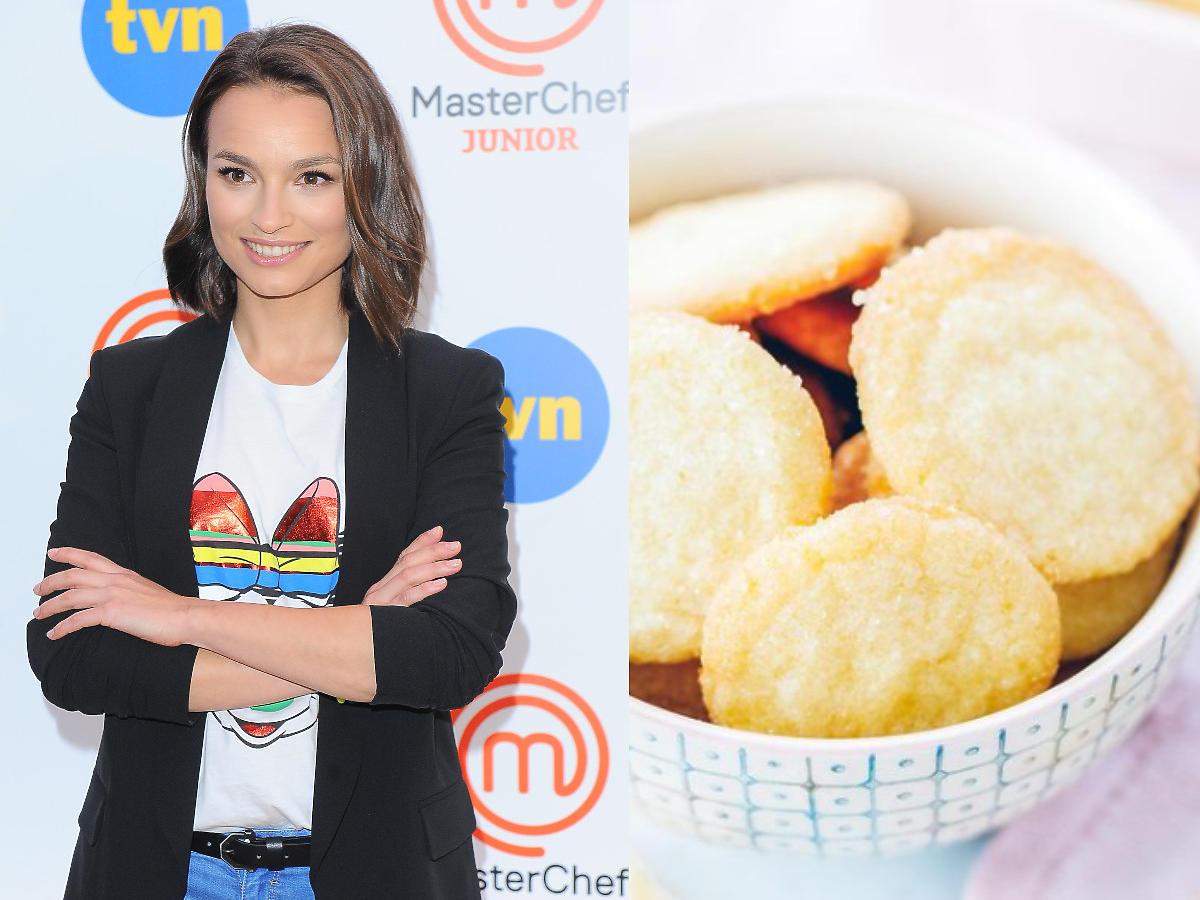 Przepis na maślane ciasteczka Ani Starmach. Zrobicie je w 15 minut.