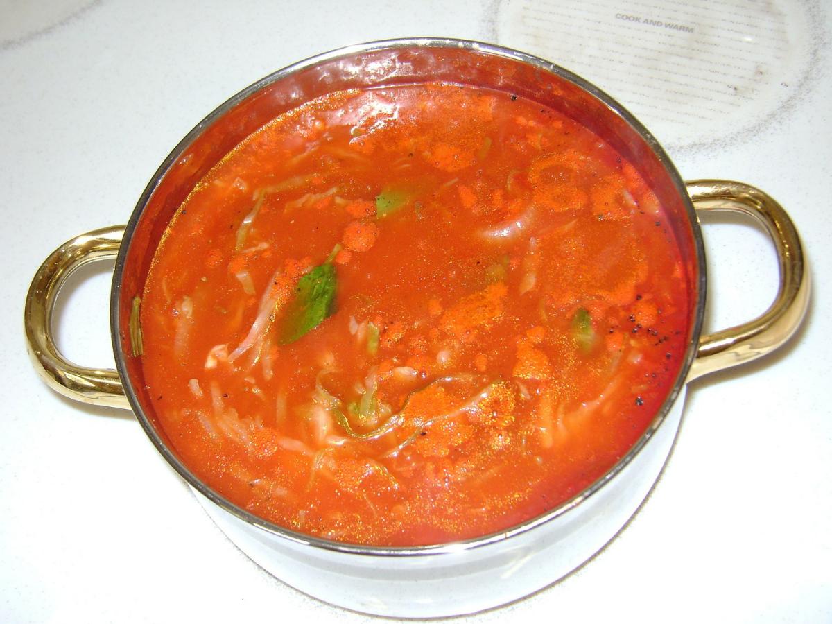 Przepis na pomidorową