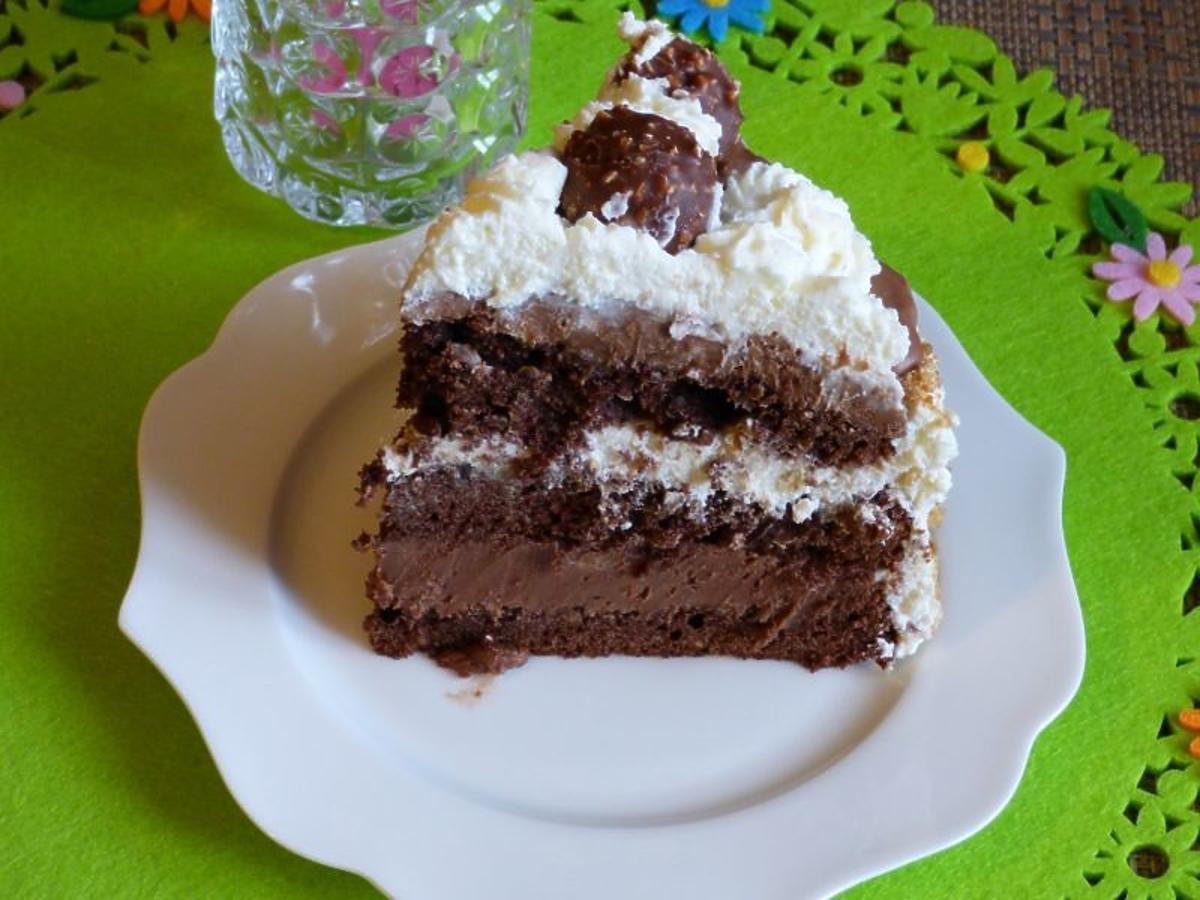 Przepis na pyszny tort Ferrero Rocher. Nikt mu się nie oprze na Wielkanoc