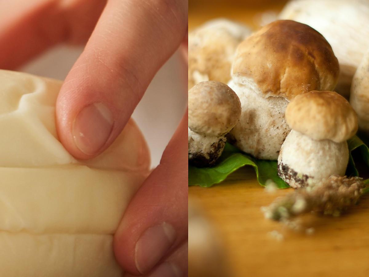 Przepis na żółty ser z grzybami. Potrzebujecie tylko tych i 30 minut