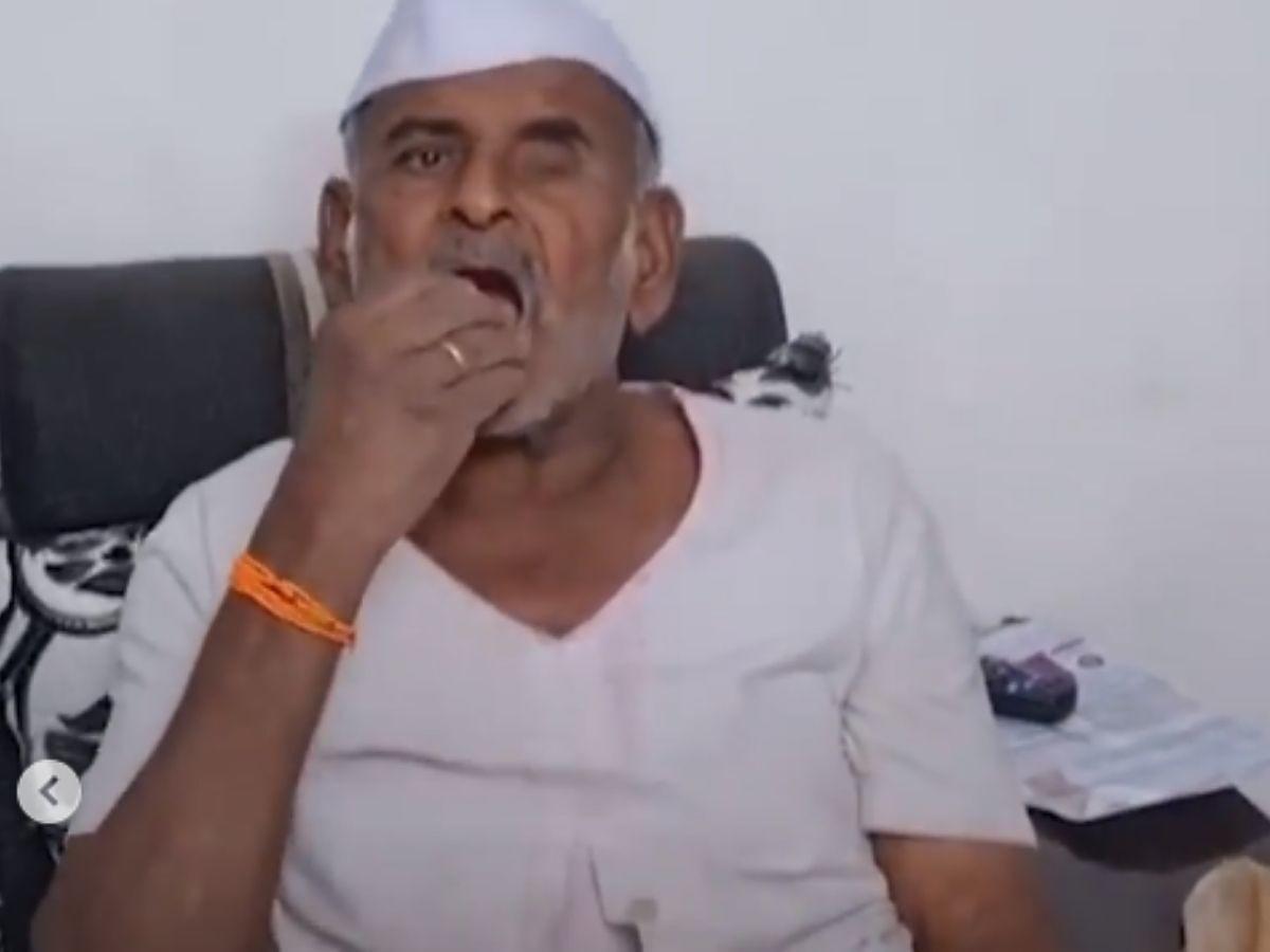 Przez 32 lata jadł kamienie i... przeżył. Nie widzi w tym nic złego