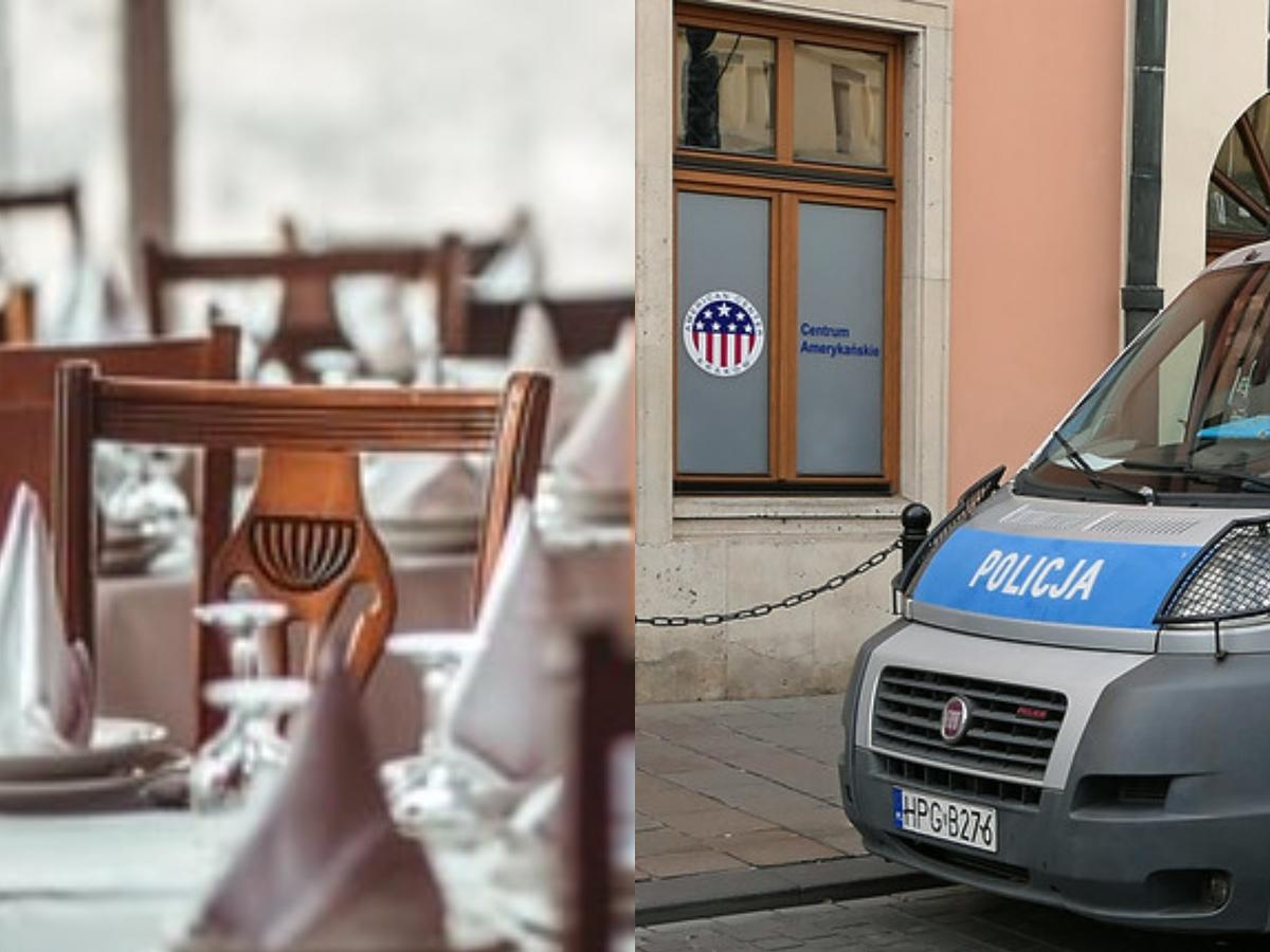 Restauracja, Policja
