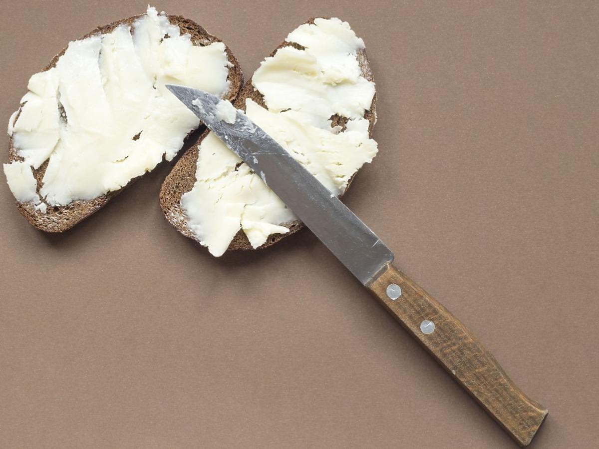 Rozsmarowywanie masła