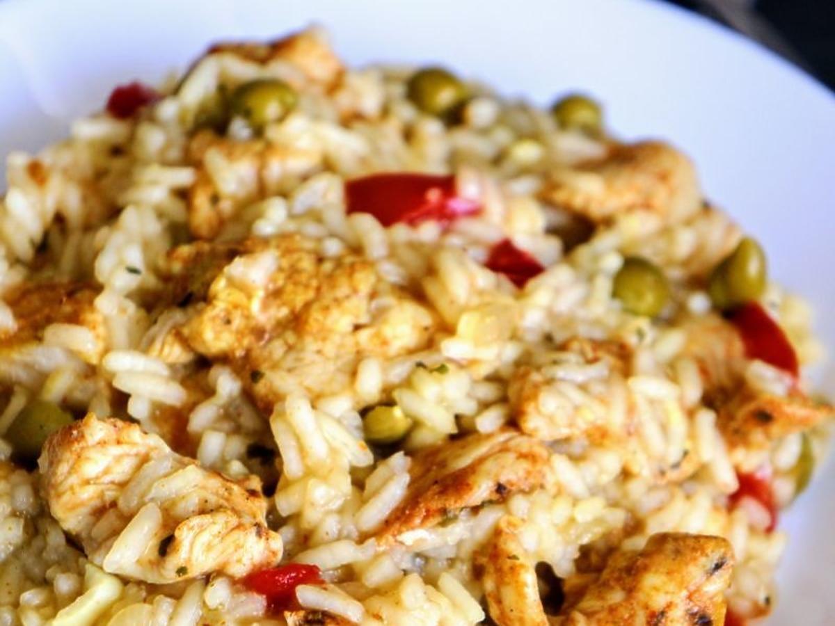 Ryż z kurczakiem
