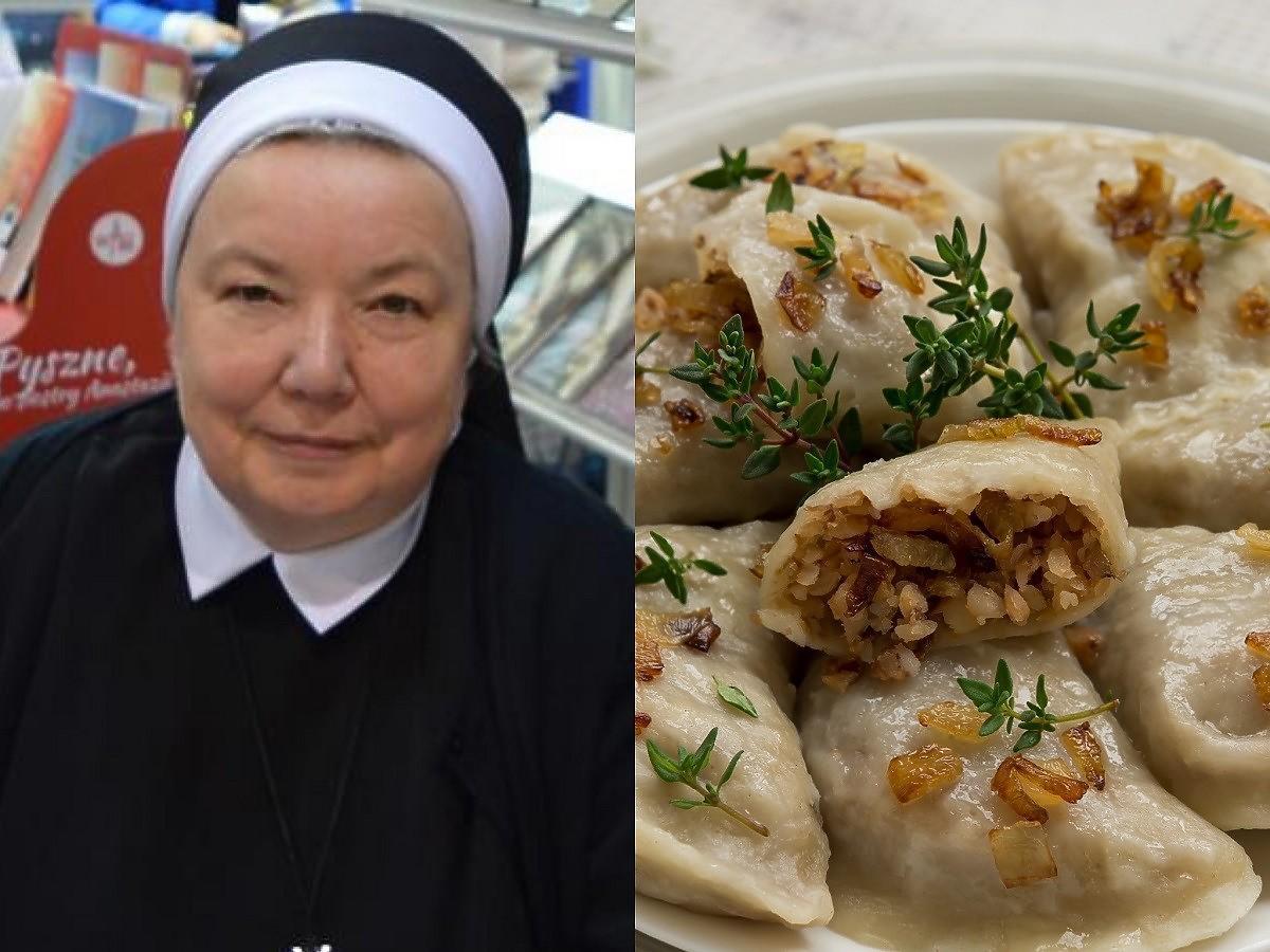 Siostra Anastazja zdradziła przepis na pierogi z kaszą gryczaną z pieczarkami.