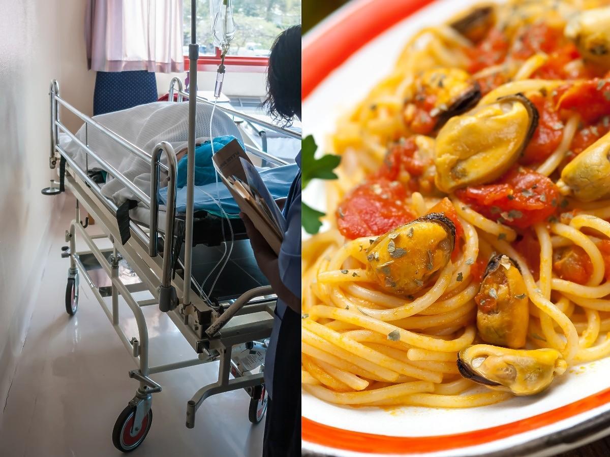 """Skandal na oddziale ginekologii w płockim szpitalu. Spaghetti z małżami i piwko """"po USG swojej dzidzi"""""""
