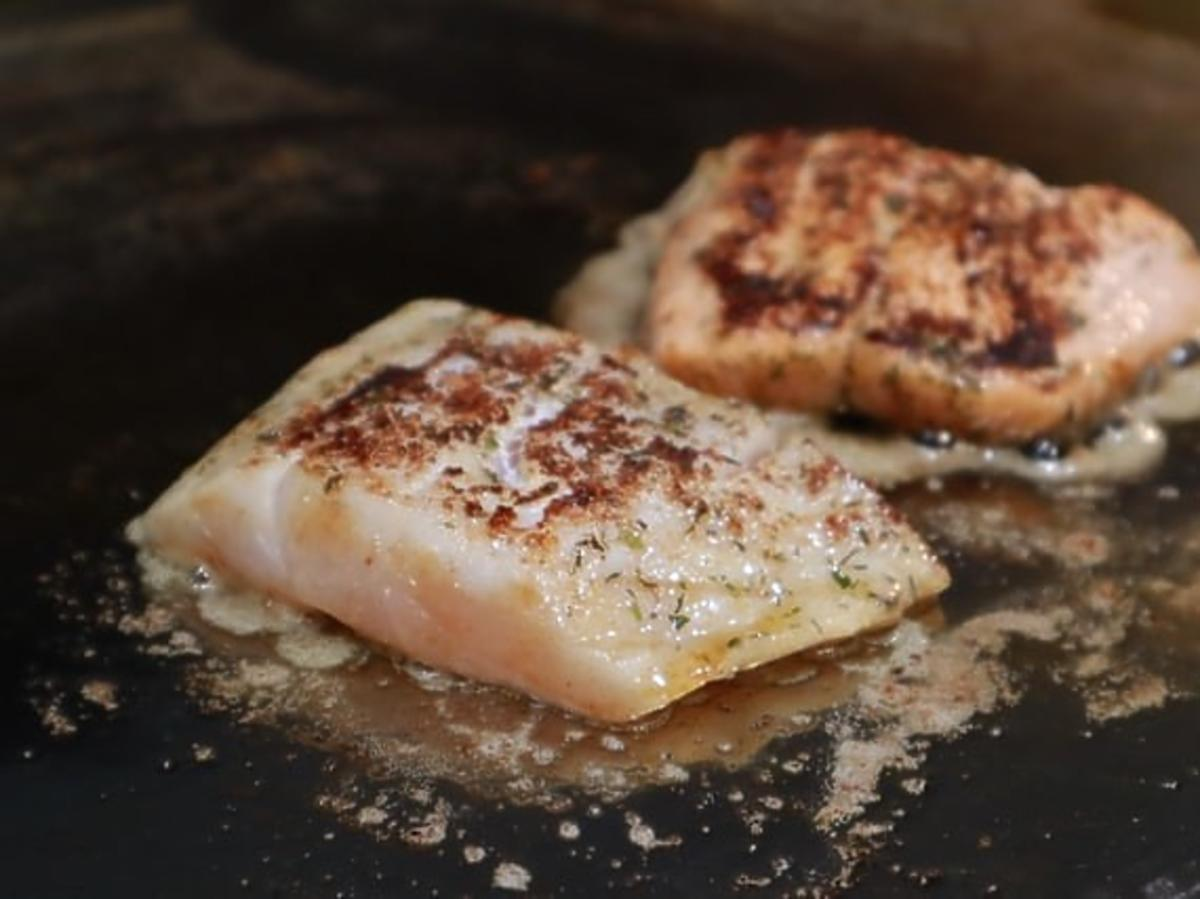 Smażenie ryby, ryba smażona, jak smażyć rybę