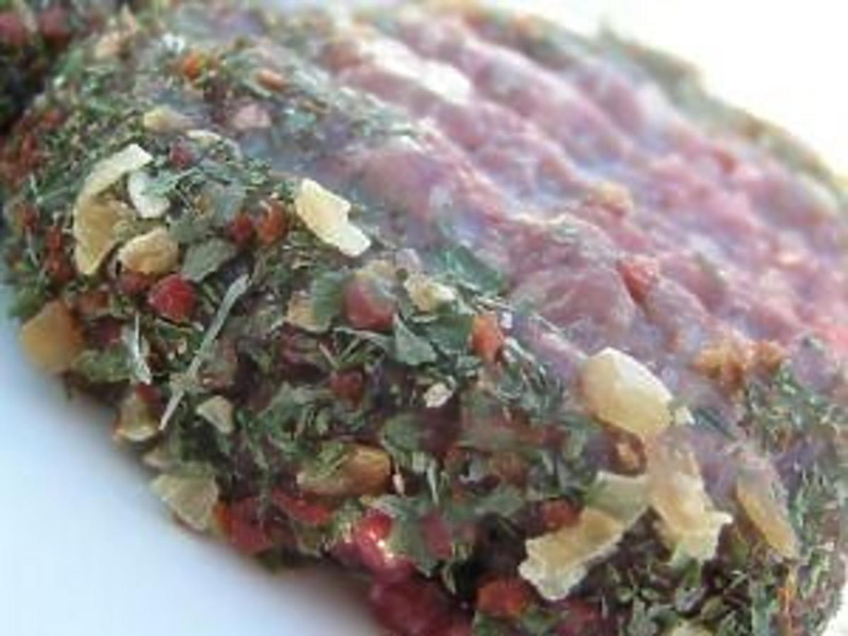 stek wołowy w kolorowym pieprzu przepis