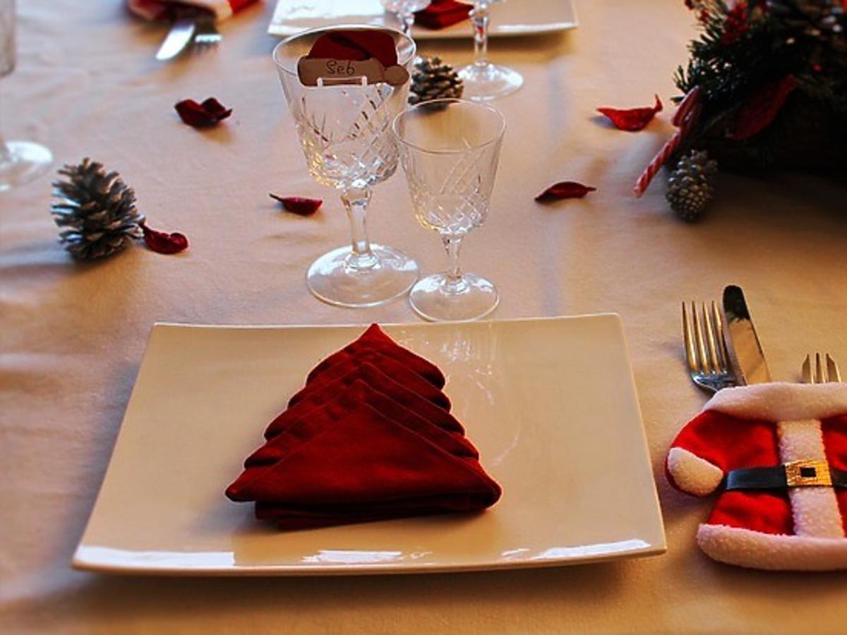 Stół wigilijny, stół na Boże Narodzenie