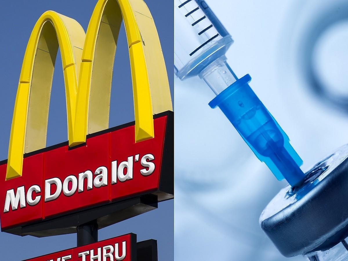 Szczepienia na koronawirusa w McDonald's? Popularna sieć łączy siły z Sanepidem