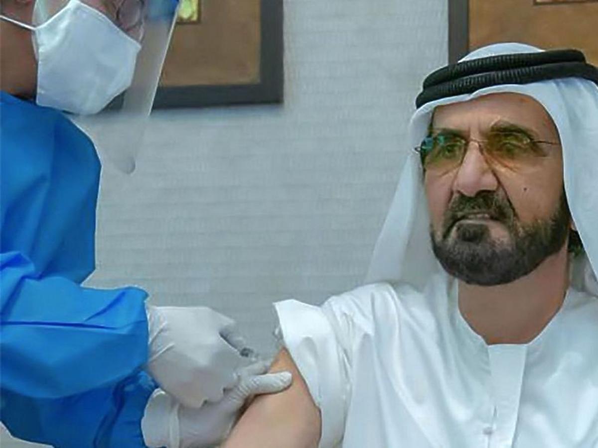 Szejk, COVID-19, szczepionka, koronawirus, emir, ZEA