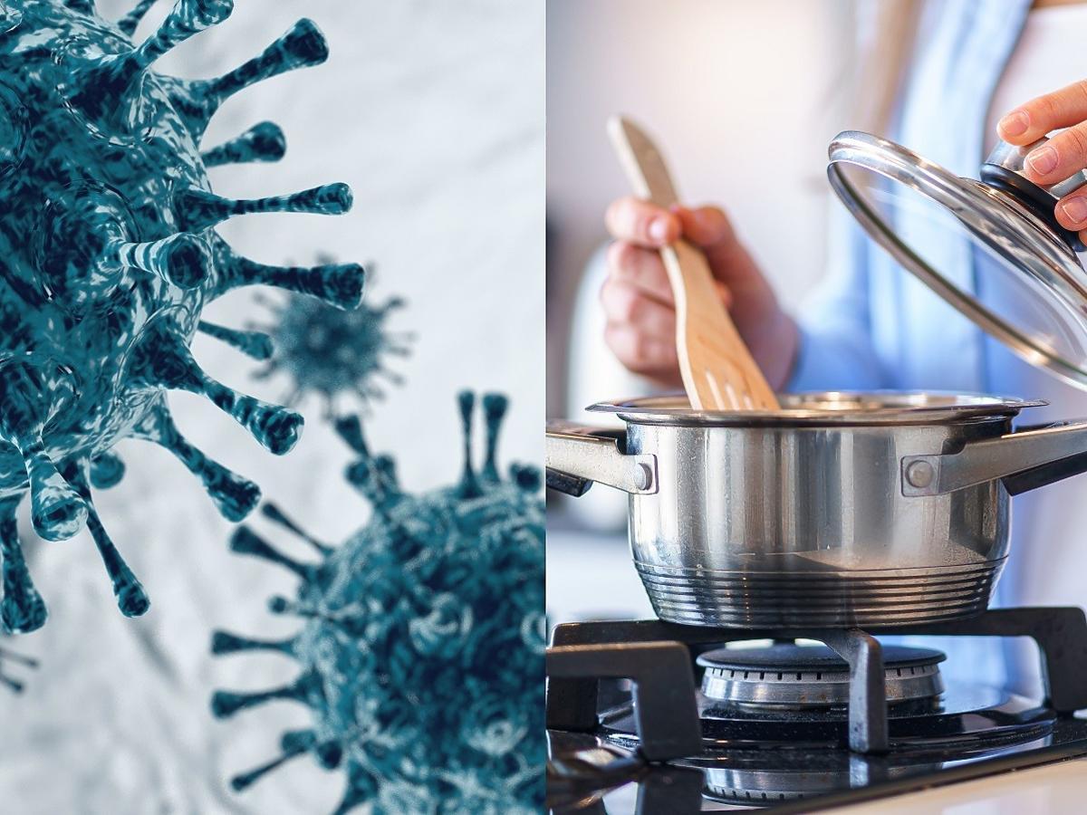 W jakiej temperaturze koronawirus ginie w jedzeniu? Wielu Polaków od roku żyje w błędzie