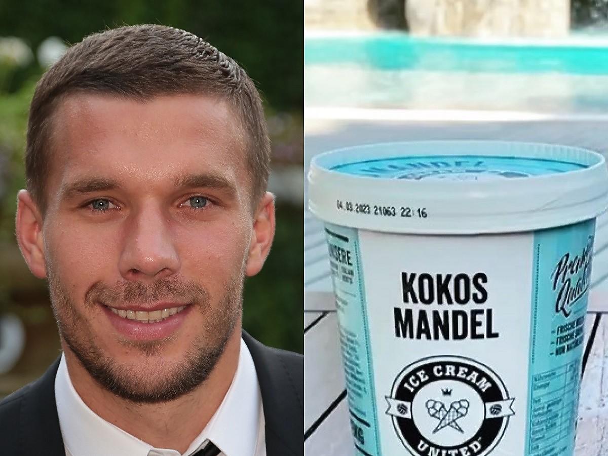 W Lidlu są do kupienia lody Lukasa Podolskiego. Powtórzą sukces lodów Ekipy?