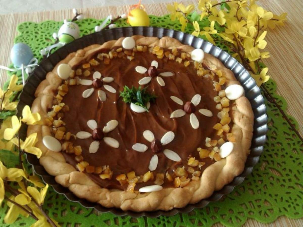 Wielkanocny mazurek kajmakowy