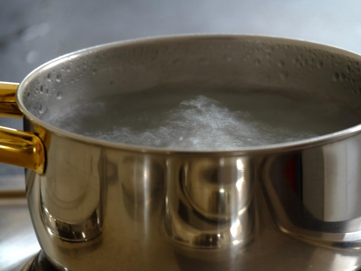 Woda gotowana, woda po gotowaniu ryżu