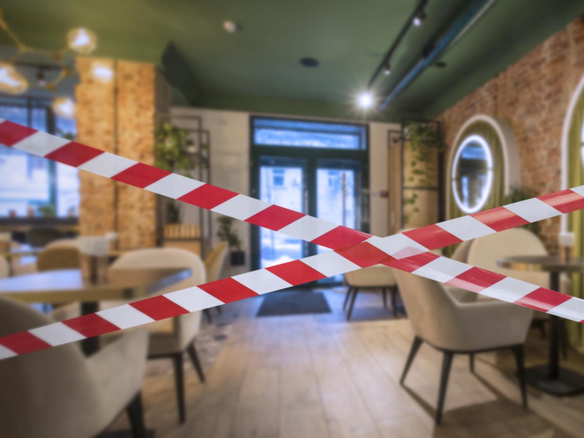 Zamknięta restauracja