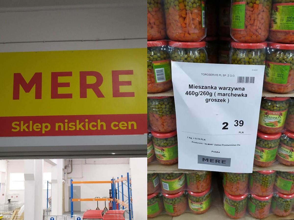 Zrobicie zakupy w rosyjskim dyskoncie Mere? Będzie konkurencją dla Biedronki i Lidla. Mamy zdjęcia
