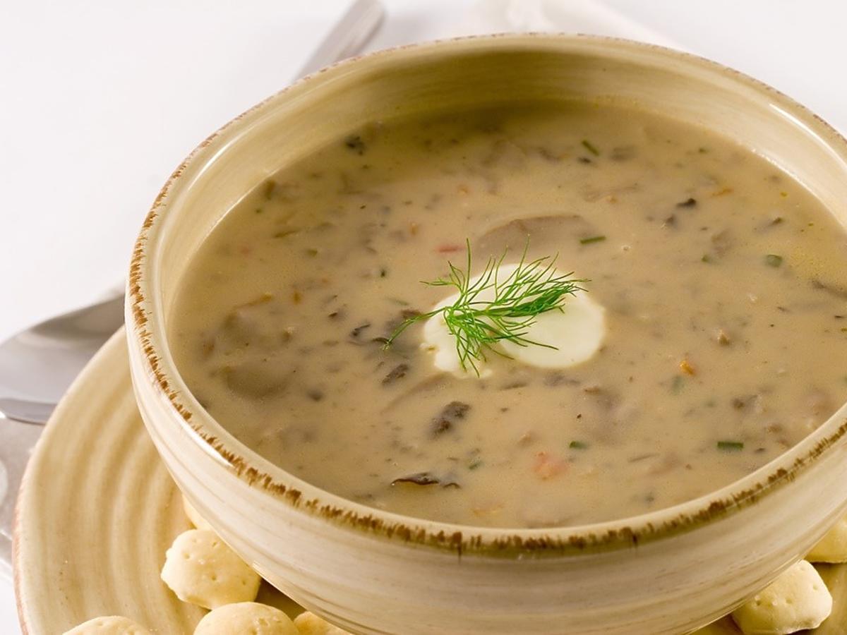 zupa grzybowa przepis Magda Gessler