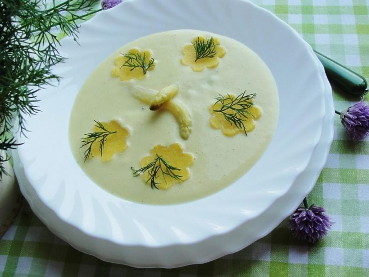 Zupa krem z białych szparagów z kluseczkami. Rewelacyjny smak
