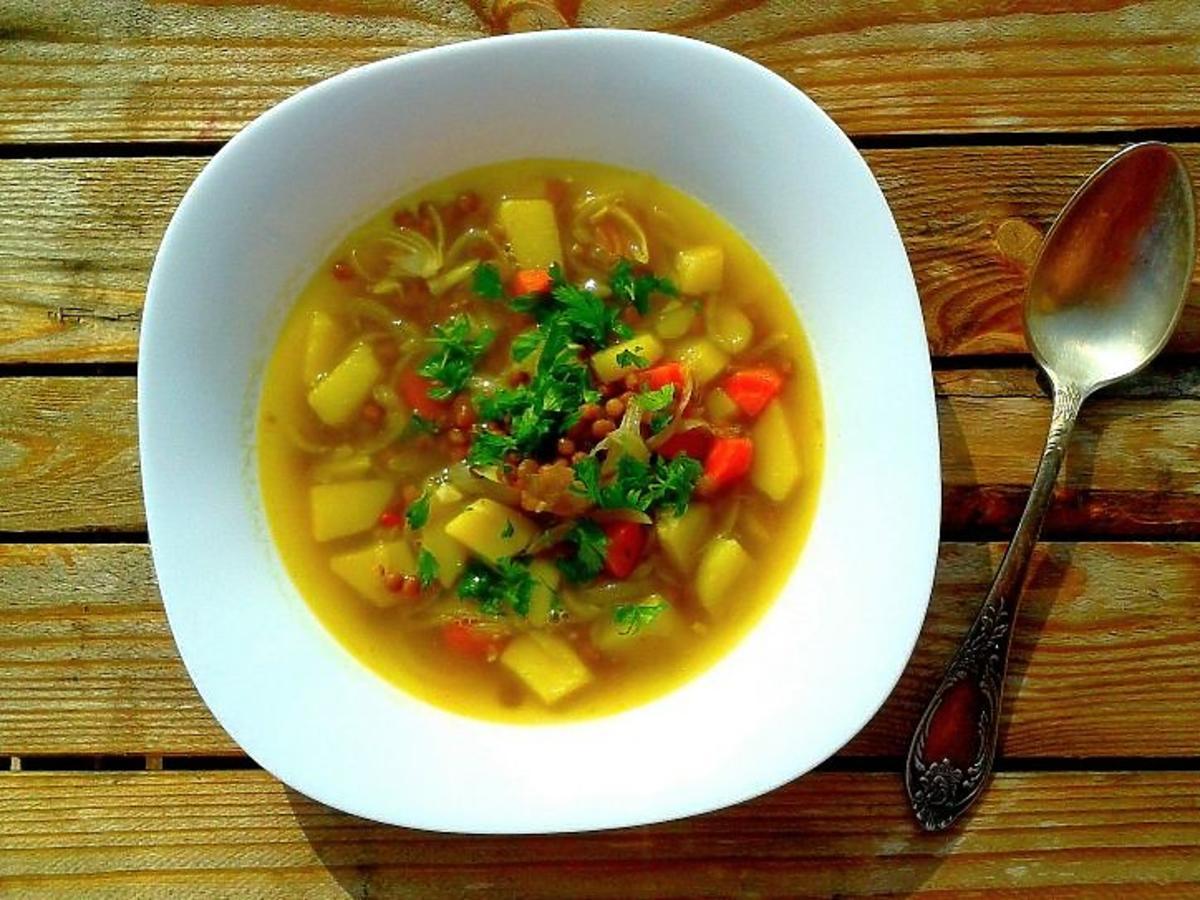 zupa z soczewicą przepis