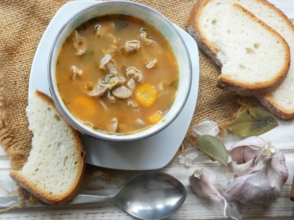 Zupa z żołądków