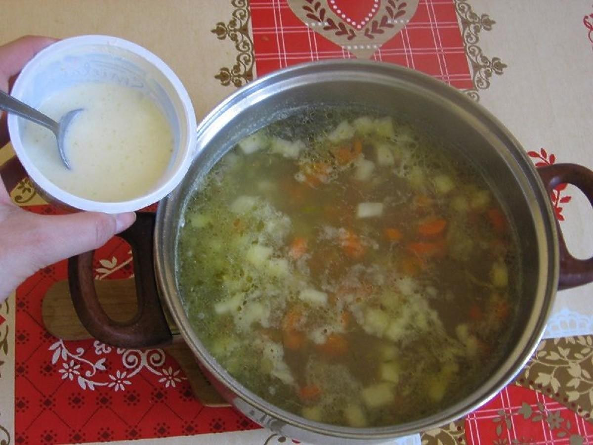 Zupa ze śmietaną